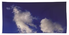 Hand Towel featuring the photograph Clouds by Mark Greenberg
