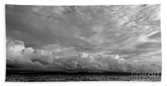 Clouds Over Alabat Island Bath Towel