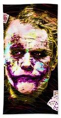 Clown With Zero Empathy Hand Towel by Daniel Janda