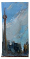 Cn Tower Hand Towels