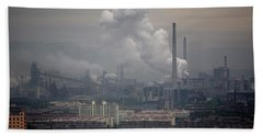 Coal Fired Power Plant In China Hand Towel