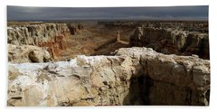Coal Mine Mesa 08 Bath Towel by Jeff Brunton