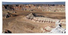 Coal Mine Mesa 11 Bath Towel by Jeff Brunton