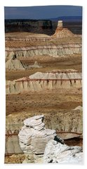 Coal Mine Mesa 19 Bath Towel by Jeff Brunton
