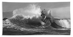 Coast Guard Surf Rescue Boat Bath Towel