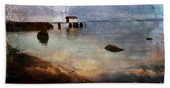 Coastal Path Bath Towel
