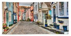 Cobbled Street Bath Towel