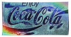 Coca Cola Rainbow Bath Towel