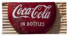 Coca Cola Sign   #0636 Bath Towel