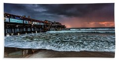 Bath Towel featuring the photograph Cocoa Sunrise by Steven Reed