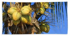 Hand Towel featuring the photograph Coconut 2 by Teresa Zieba