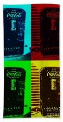 Coke Poster Hand Towel