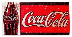 Coke Bath Towel