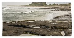 Cold Waves Of Northumberland Hand Towel