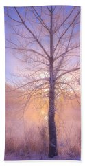 Cold Winter Morning Hand Towel