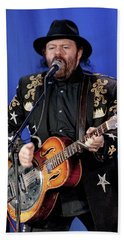 Colin Linden Of Blackie And The Rodeo Kings Hand Towel