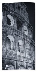 Colosseum Before Dawn Bath Towel
