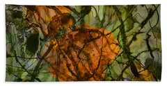 Color Abstraction Xx Hand Towel by David Gordon