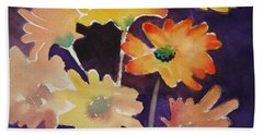 Color And Whimsy Hand Towel by Marilyn Jacobson