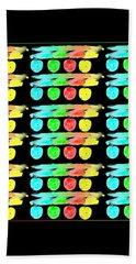 Color Etching Crayon Memories Bath Towel