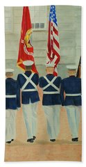 Color Guard Hand Towel