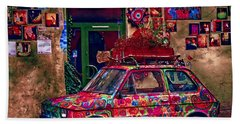 Color On The Road In Krakow- Poland Hand Towel