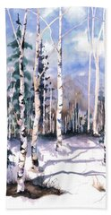 Colorado Aspens 2  Bath Towel