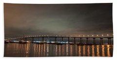 Coronado Bridge San Diego Bath Towel by Gandz Photography