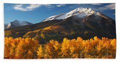 Colorado Gold Bath Towel