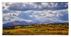 Colorado Landscape Hand Towel