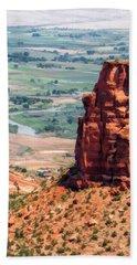 Colorado National Monument Grand Junction View Bath Towel