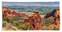 Colorado National Monument Monument Canyon Bath Towel