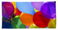 Colorful Balloons Hand Towel