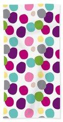 Colorful Confetti 2 Hand Towel