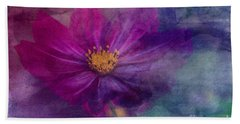 Colorful Cosmos Hand Towel