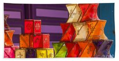 Colorful Lanterns Hand Towel