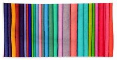 Colorful Pashminas Bath Towel
