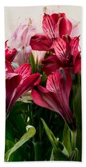 Colorful Peruvian Lillys Hand Towel