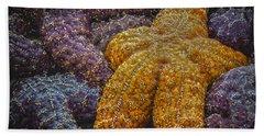 Colorful Starfish Bath Towel