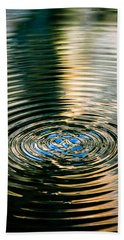 Bath Towel featuring the photograph Colorful Waves by Sotiris Filippou