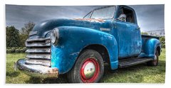 Colorful Workhorse - 1953 Chevy Truck Hand Towel