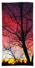 Colors Of Dusk Hand Towel