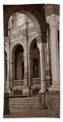 Columns And Arches Hand Towel
