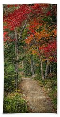 Hand Towel featuring the photograph Come Walk With Me by Priscilla Burgers