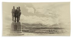 Commando Memorial 3 Hand Towel