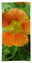Common Nasturtium Bath Towel