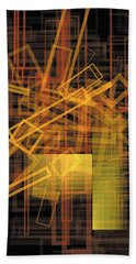 Composition 26 Hand Towel by Terry Reynoldson