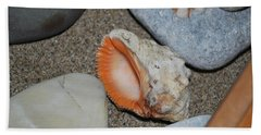 Hand Towel featuring the photograph Conch 1 by George Katechis