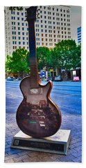 Congress Avenue Sixth String Hand Towel