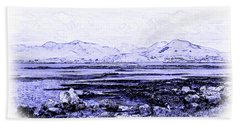 Hand Towel featuring the photograph Connemara Shore by Jane McIlroy